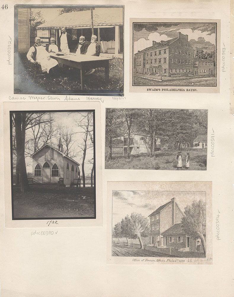 Castner Scrapbook v.5, Old Houses 2, page 46