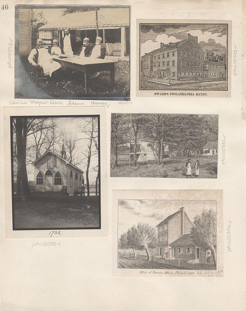 Castner Scrapbook v.5, Old Houses 2, page 46