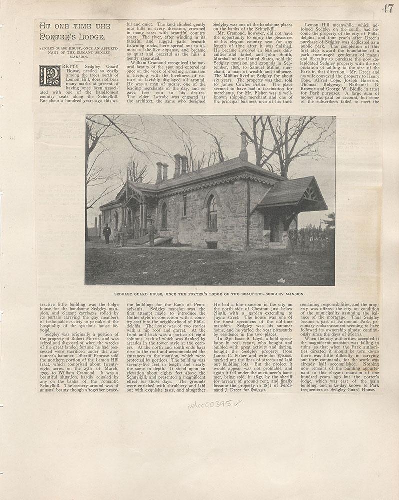 Castner Scrapbook v.5, Old Houses, page 47