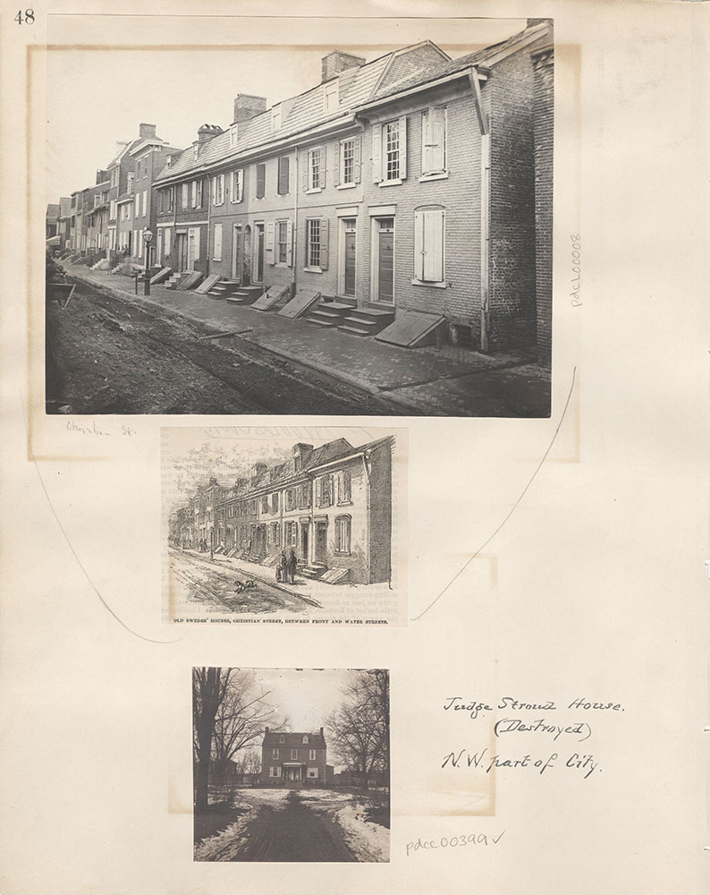 Castner Scrapbook v.5, Old Houses 2, page 48