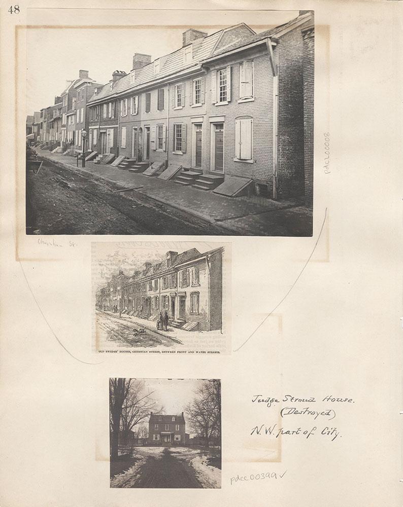 Castner Scrapbook v.5, Old Houses 2, page 48