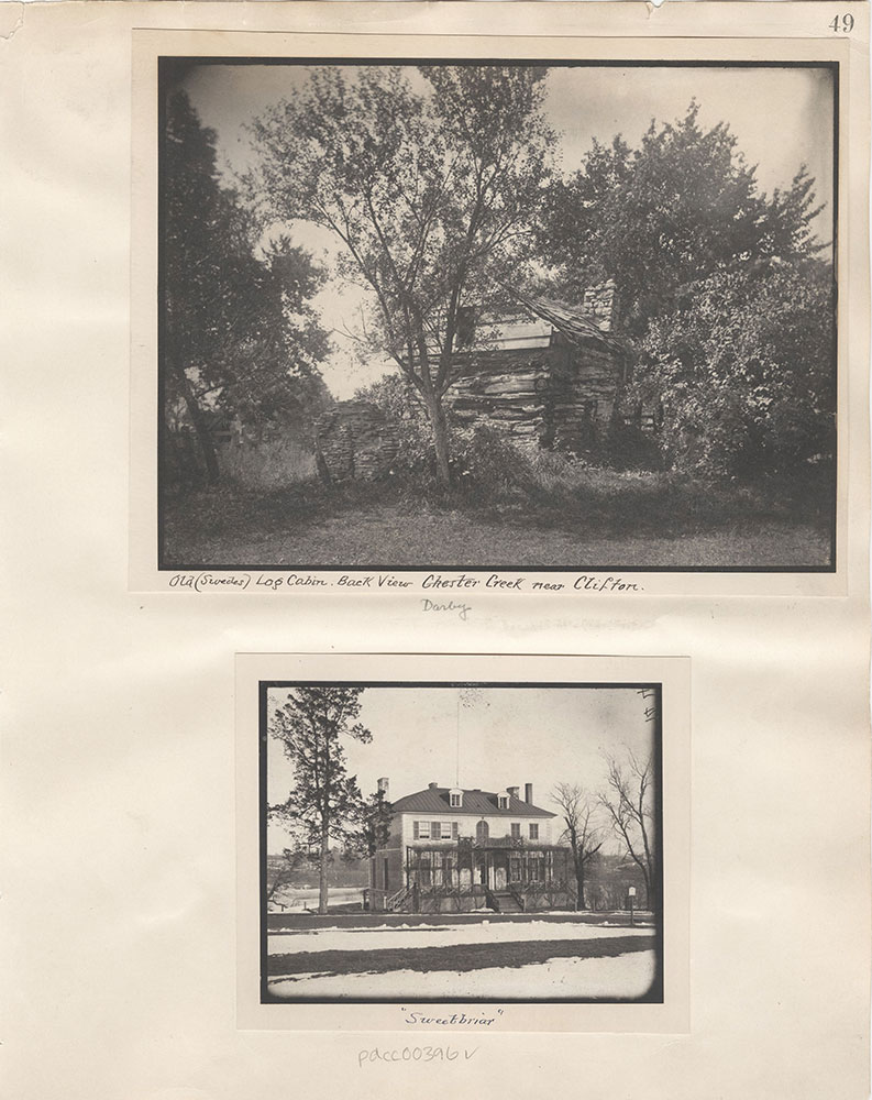Castner Scrapbook v.5, Old Houses 2, page 49