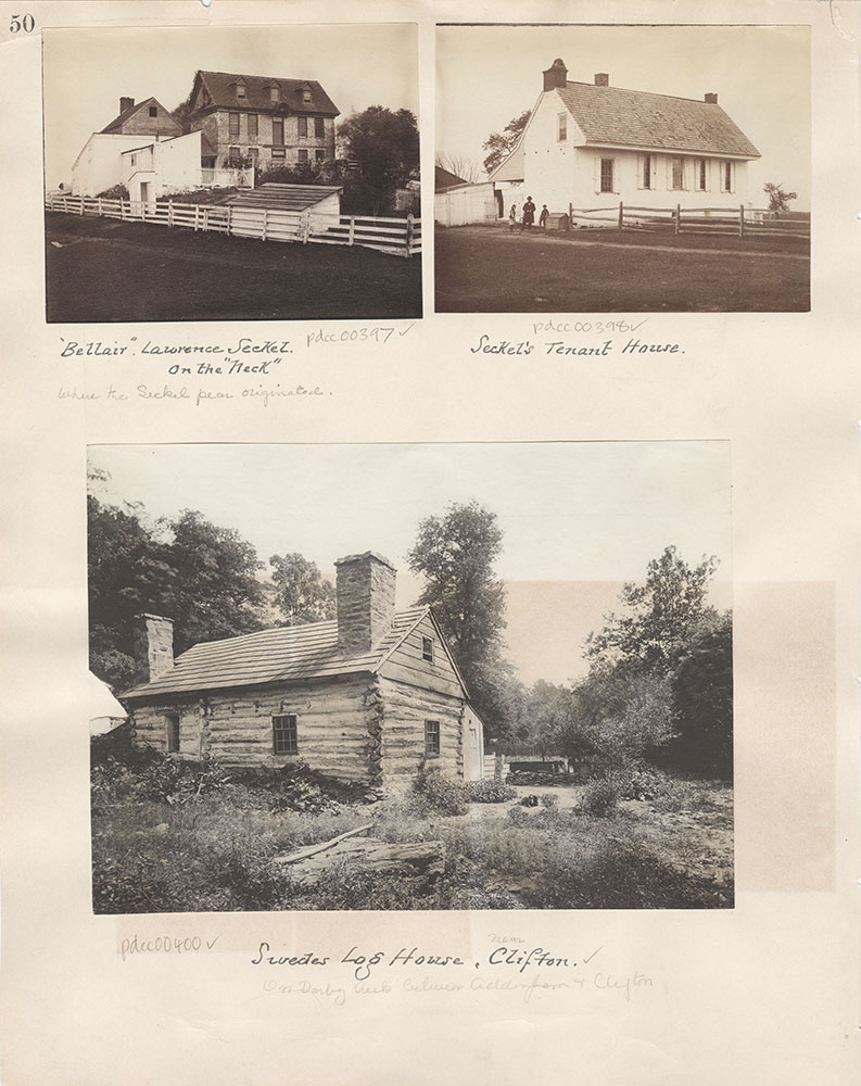 Castner Scrapbook v.5, Old Houses 2, page 50