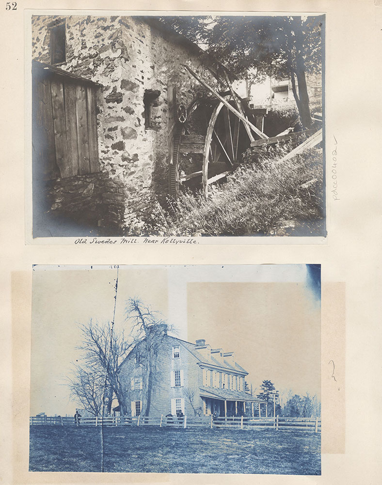 Castner Scrapbook v.5, Old Houses 2, page 52