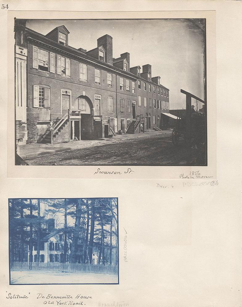 Castner Scrapbook v.5, Old Houses 2, page 54