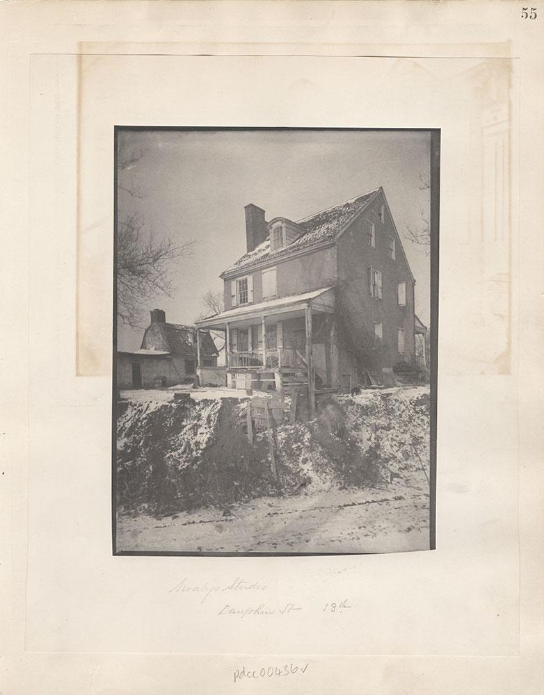 Castner Scrapbook v.5, Old Houses 2, page 55
