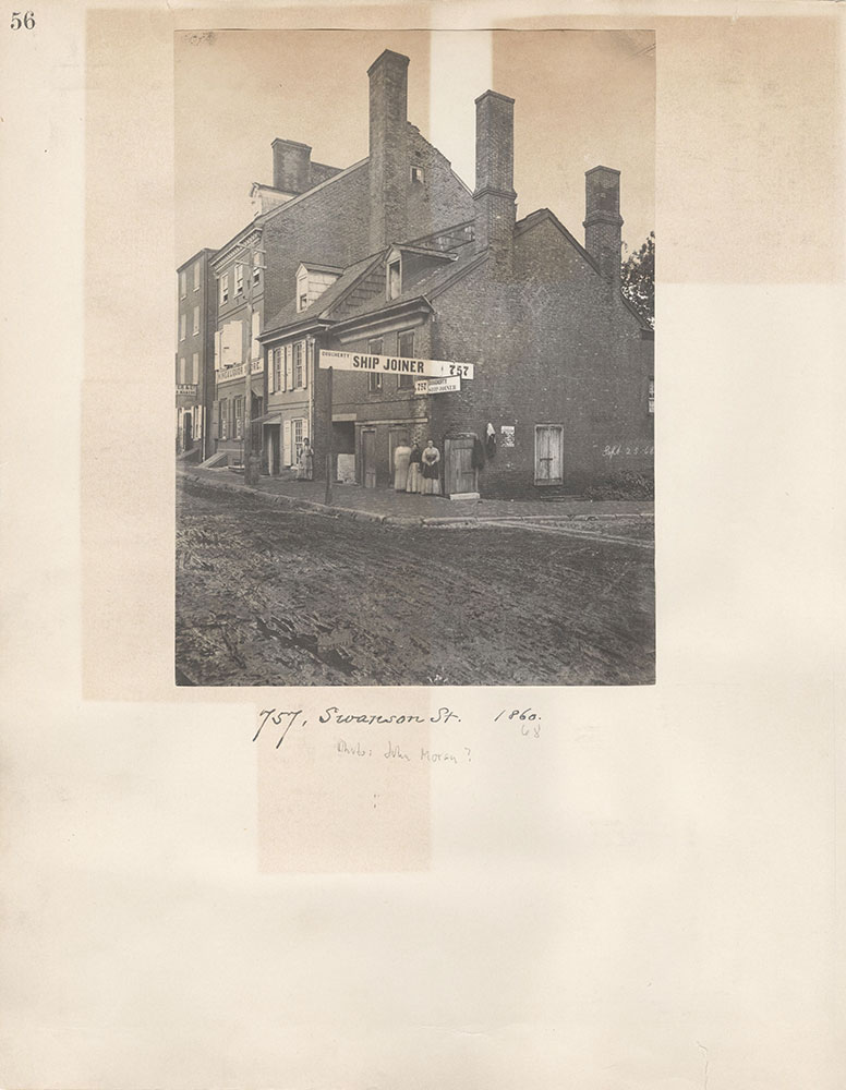 Castner Scrapbook v.5, Old Houses 2, page 56