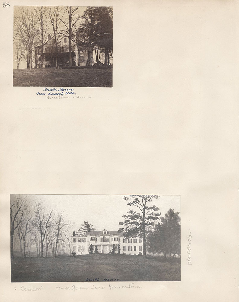Castner Scrapbook v.5, Old Houses 2, page 58
