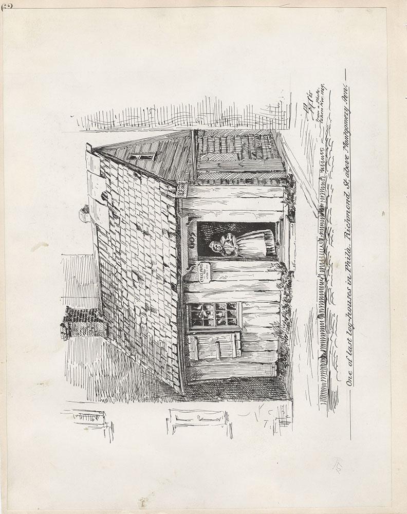 Castner Scrapbook v.5, Old Houses 2, page 62