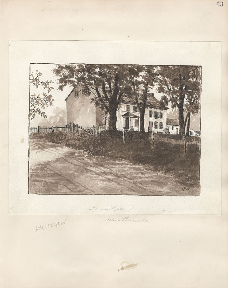 Castner Scrapbook v.5, Old Houses 2, page 63