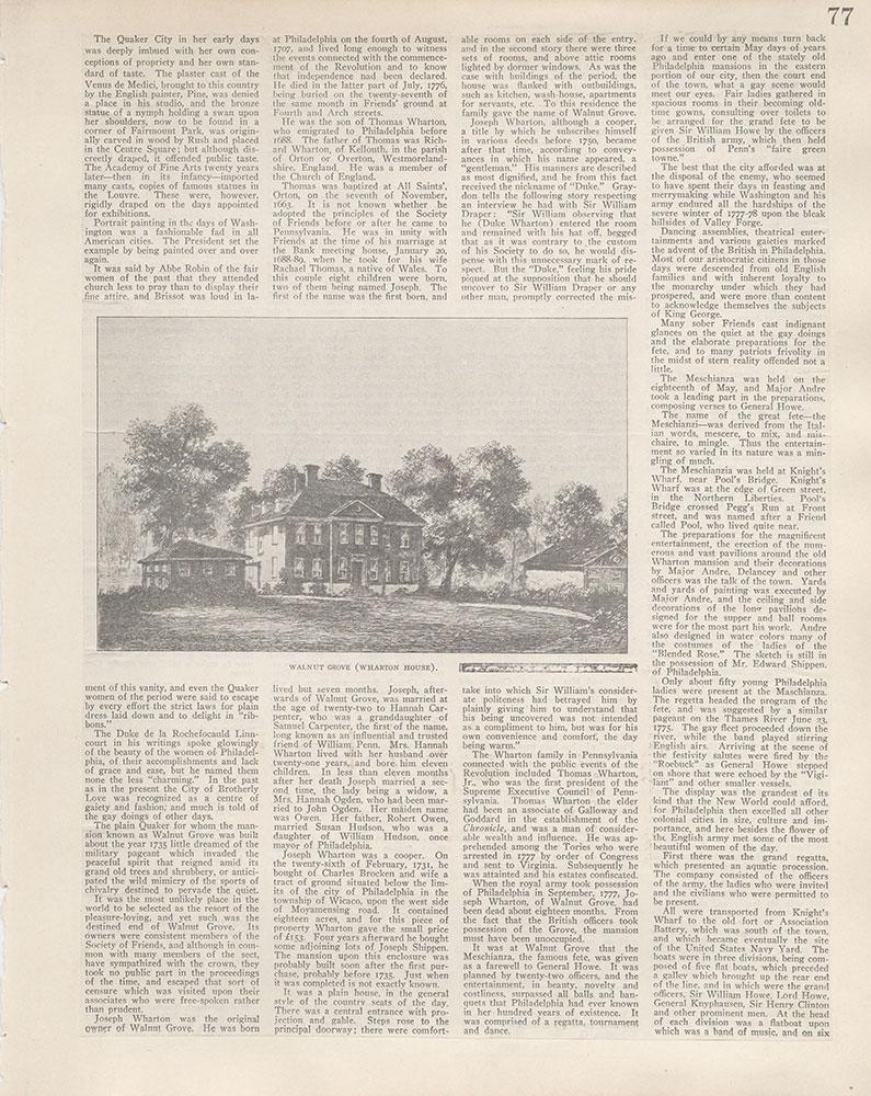 Castner Scrapbook v.5, Old Houses 2, page 77
