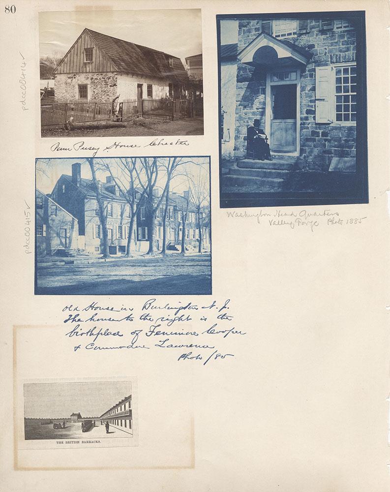 Castner Scrapbook v.5, Old Houses 2, page 80