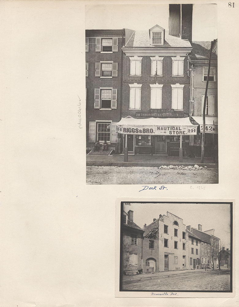 Castner Scrapbook v.5, Old Houses 2, page 81