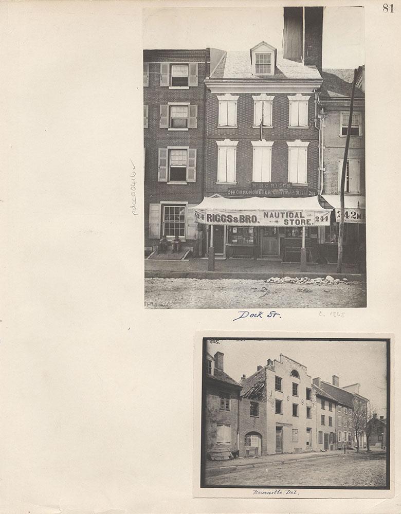 Castner Scrapbook v.5, Old Houses 2, page 81