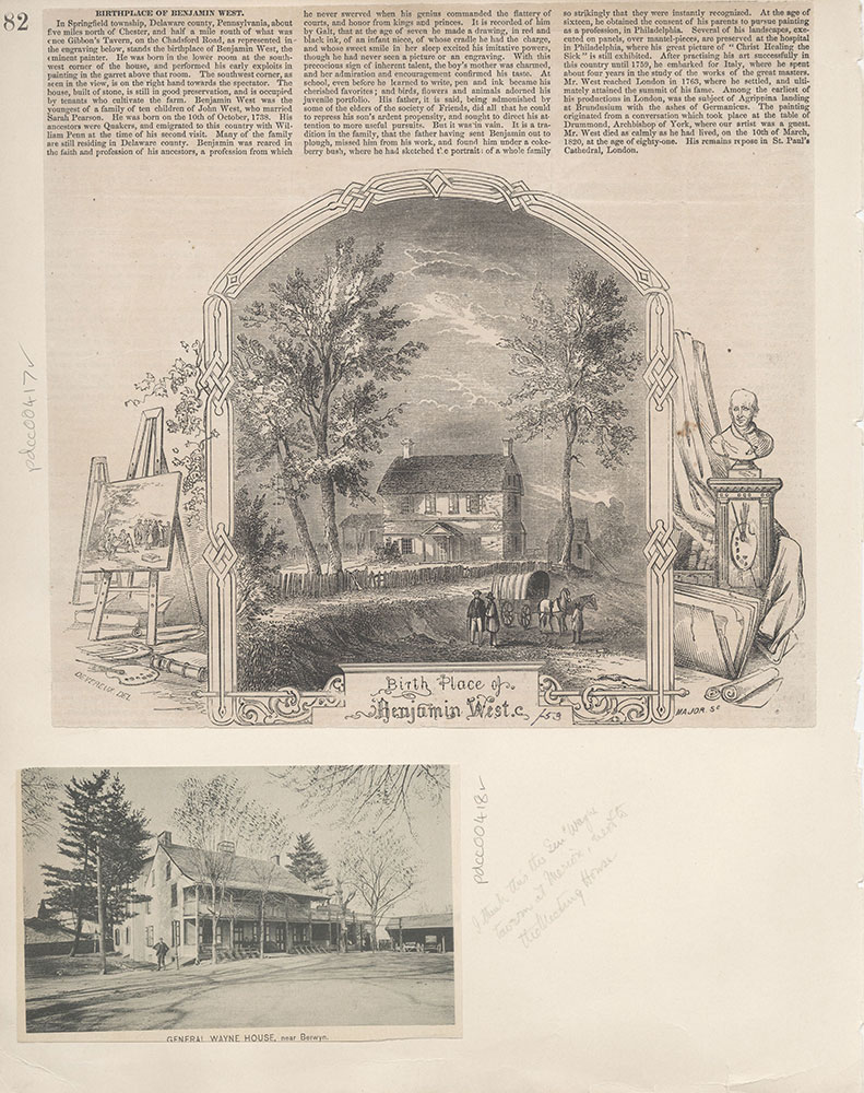 Castner Scrapbook v.5, Old Houses 2, page 82