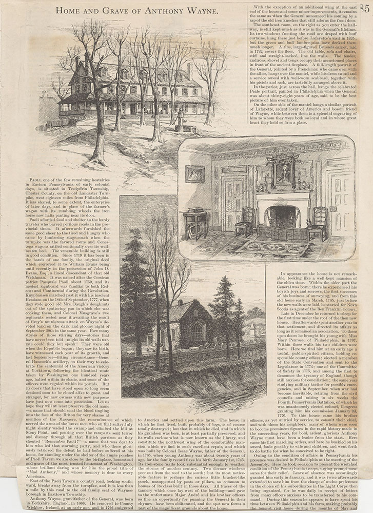 Castner Scrapbook v.5, Old Houses 2, page 85