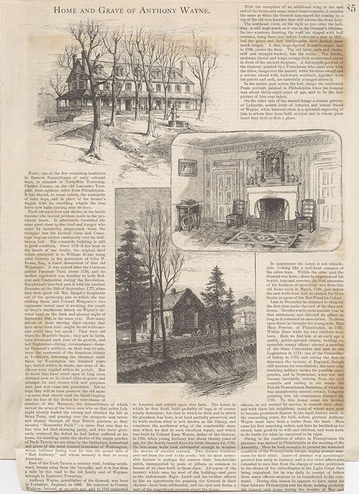 Castner Scrapbook v.5, Old Houses 2, page 85