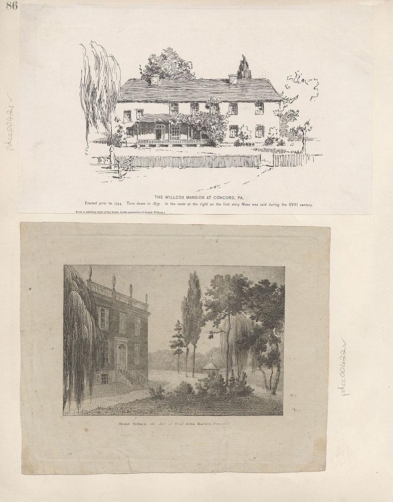 Castner Scrapbook v.5, Old Houses 2, page 86