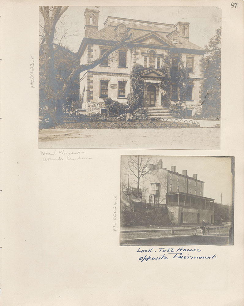 Castner Scrapbook v.5, Old Houses 2, page 87