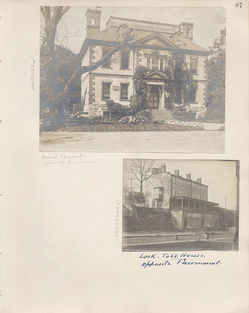 Castner Scrapbook v.5, Old Houses 2, page 87