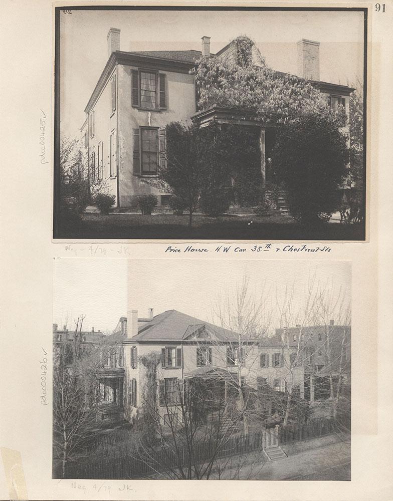 Castner Scrapbook v.5, Old Houses, page 91