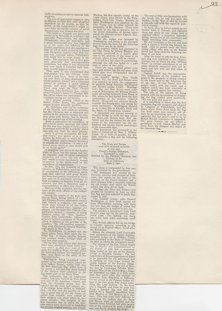 Castner Scrapbook v.5, Old Houses 2, page 93