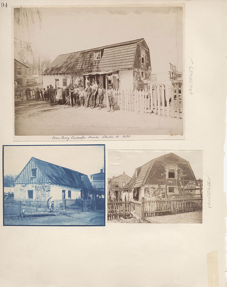 Castner Scrapbook v.5, Old Houses 2, page 94