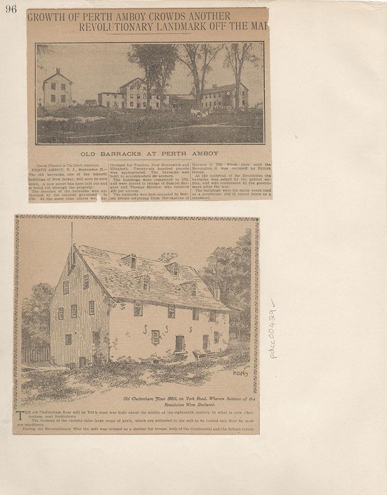 Castner Scrapbook v.5, Old Houses 2, page 96