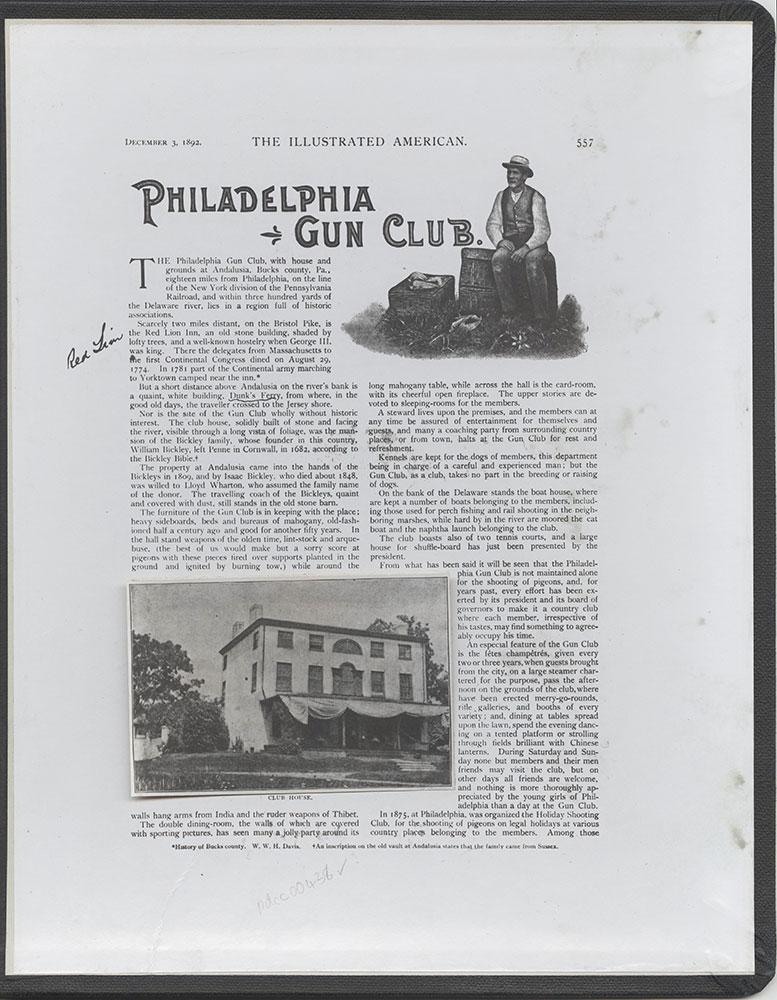 Castner Scrapbook v.5, Old Houses 2, (inside back cover)
