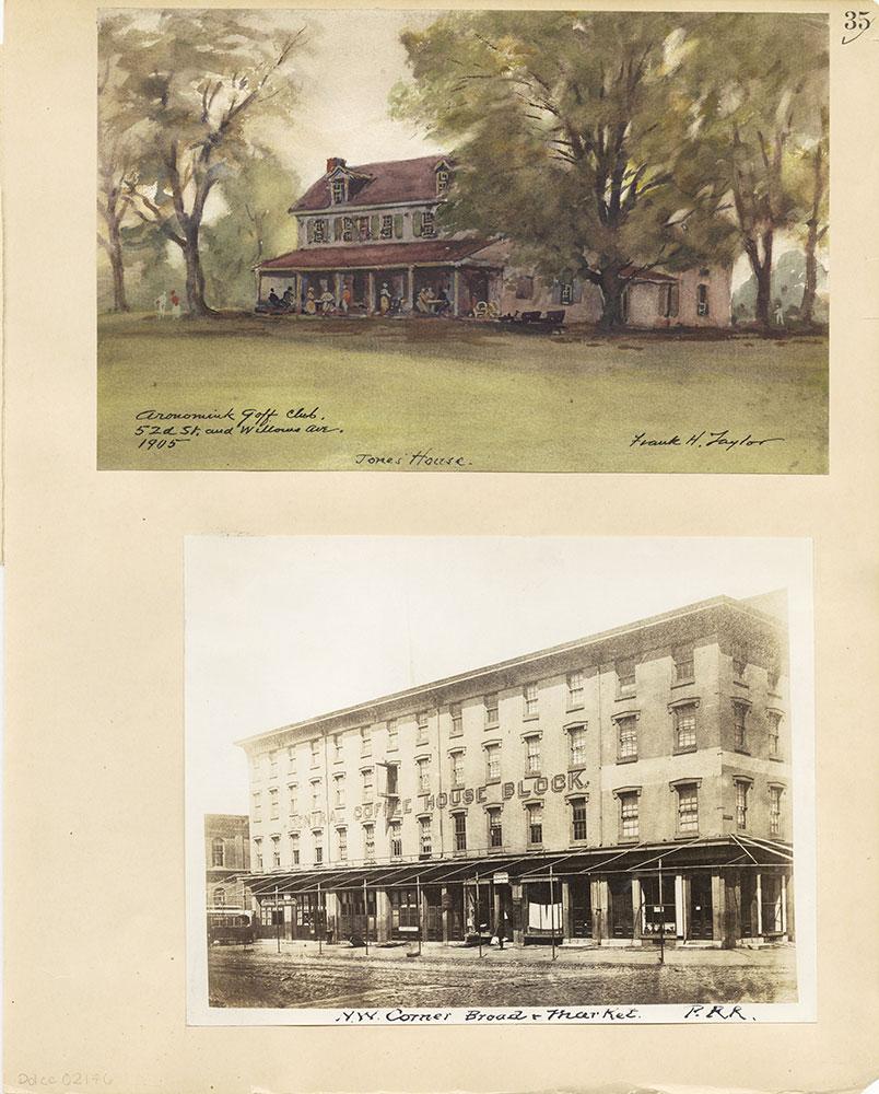 Castner Scrapbook v.31, Old Houses 5, page 35