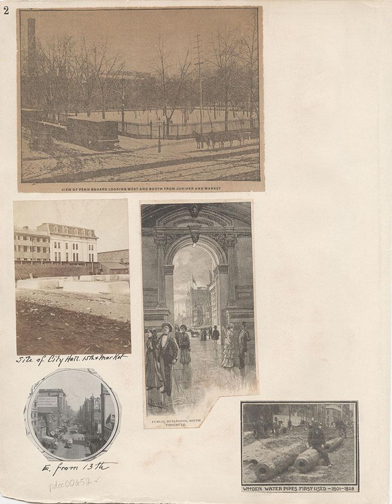 Castner Scrapbook v.6, Market Street, page 2