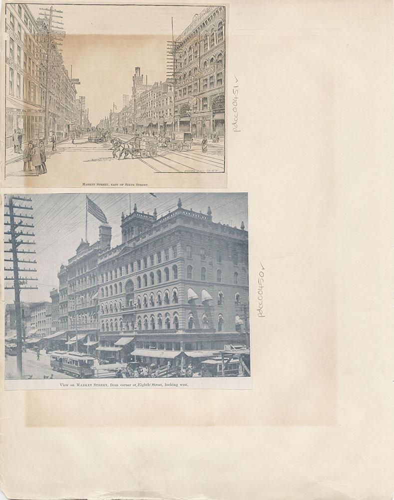 Castner Scrapbook v.6, Market Street, page 4