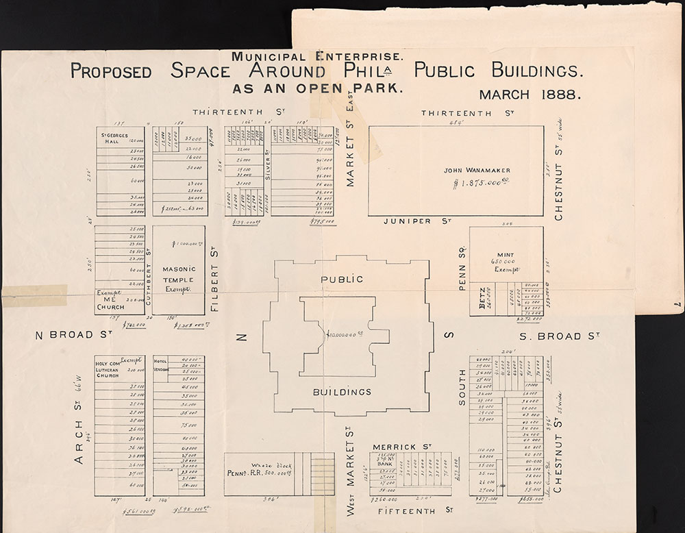 Castner Scrapbook v.6, Market Street, page 7