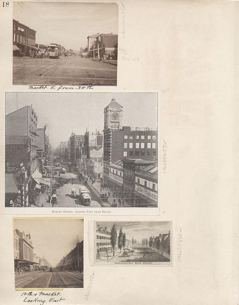 Castner Scrapbook v.6, Market Street, page 18