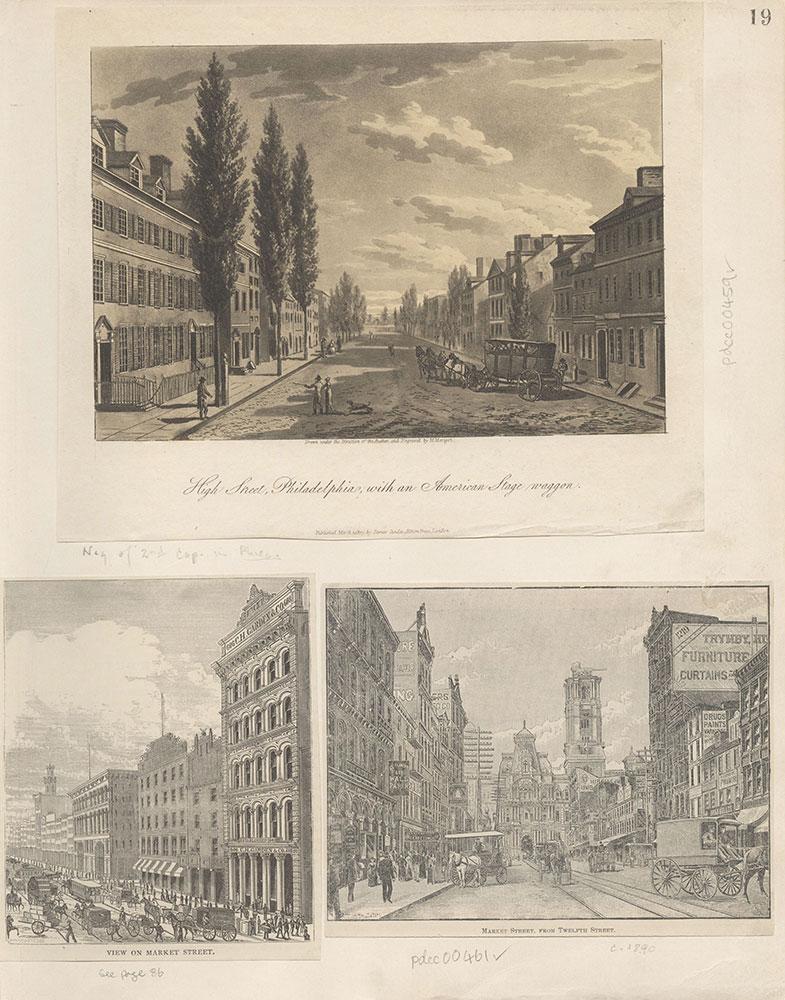 Castner Scrapbook v.6, Market Street, page 19