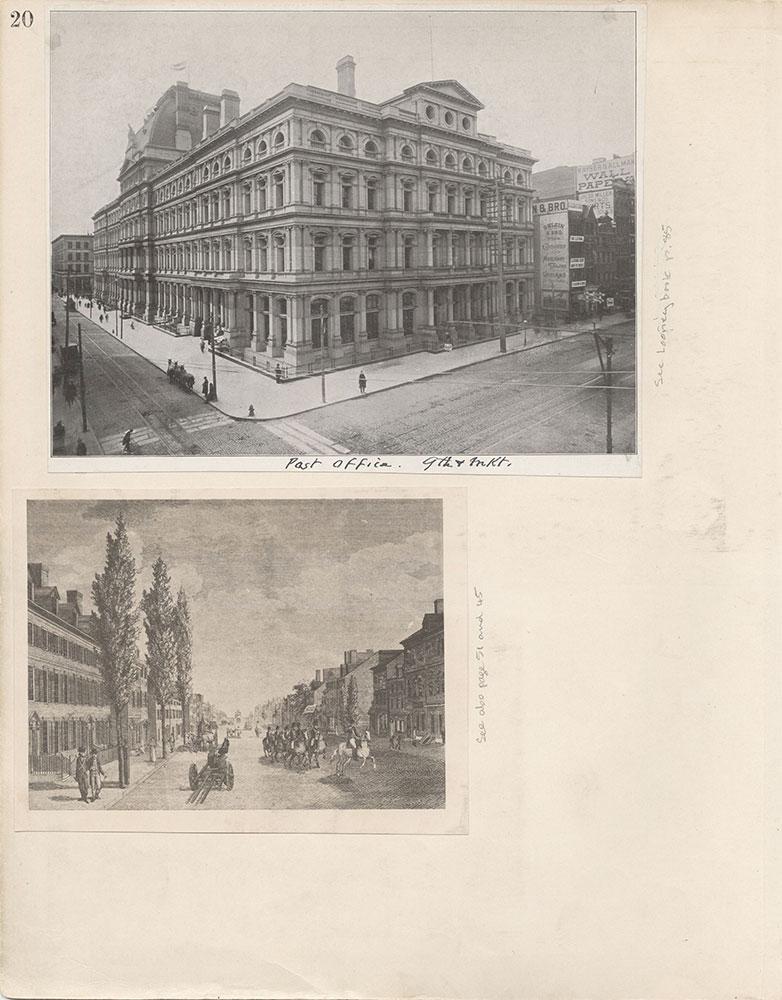 Castner Scrapbook v.6, Market Street, page 20