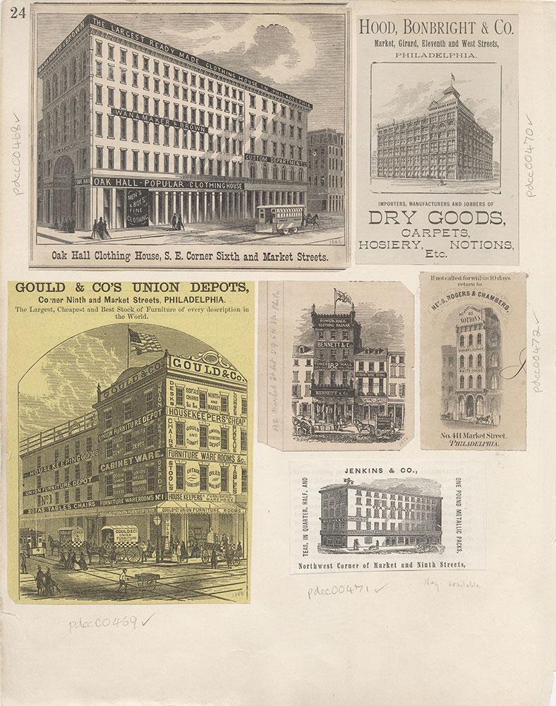 Castner Scrapbook v.6, Market Street, page 24