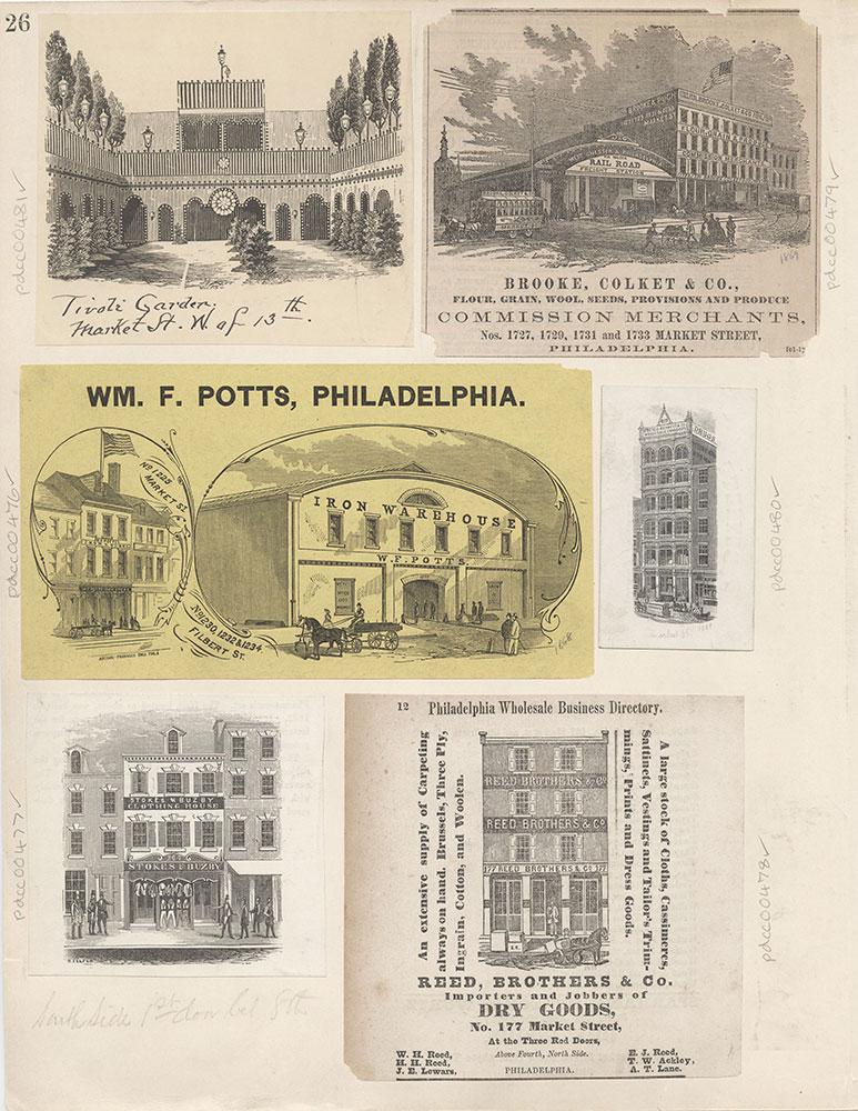 Castner Scrapbook v.6, Market Street, page 26