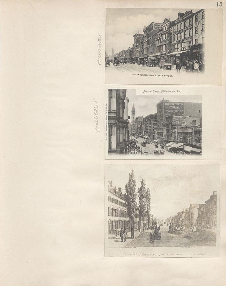 Castner Scrapbook v.6, Market Street, page 45
