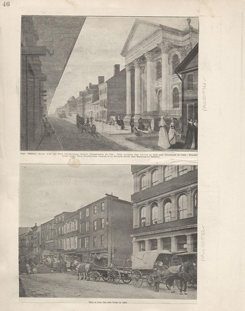 Castner Scrapbook v.6, Market Street, page 46
