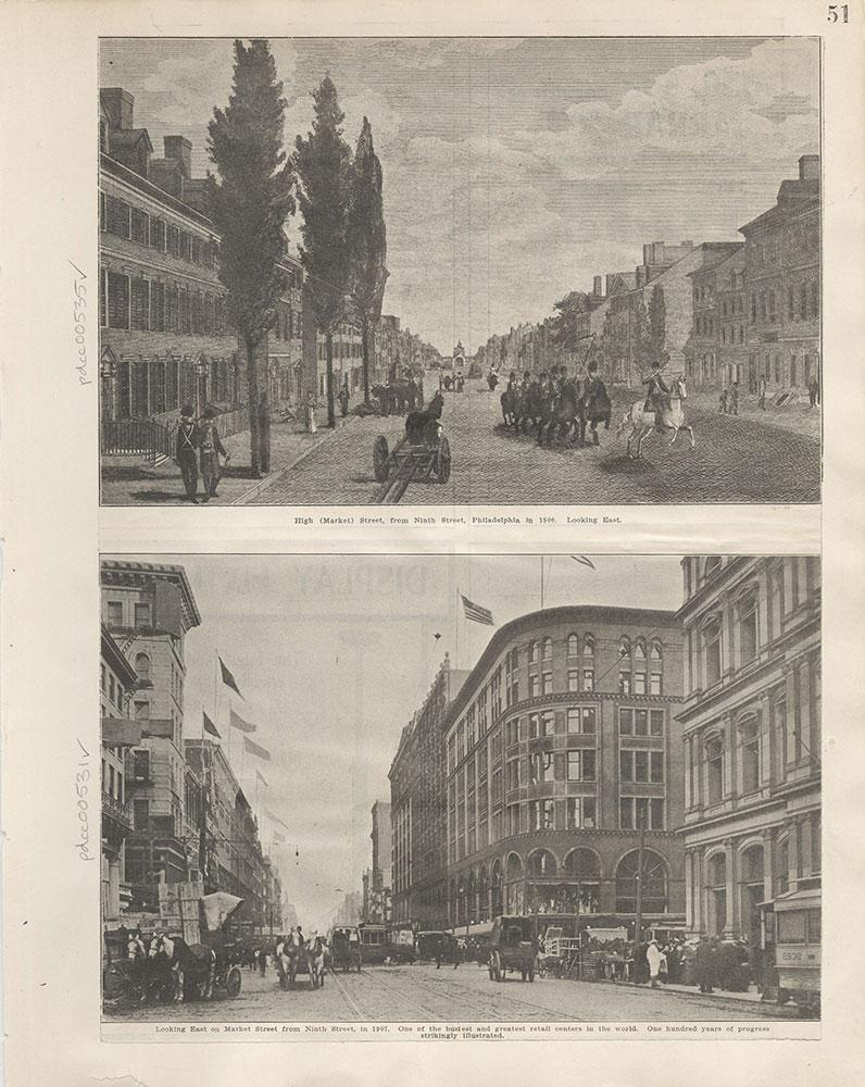 Castner Scrapbook v.6, Market Street, page 51