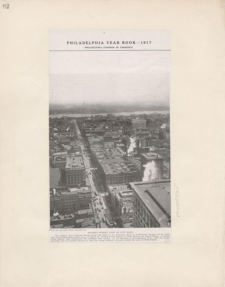 Castner Scrapbook v.6, Market Street, page 82