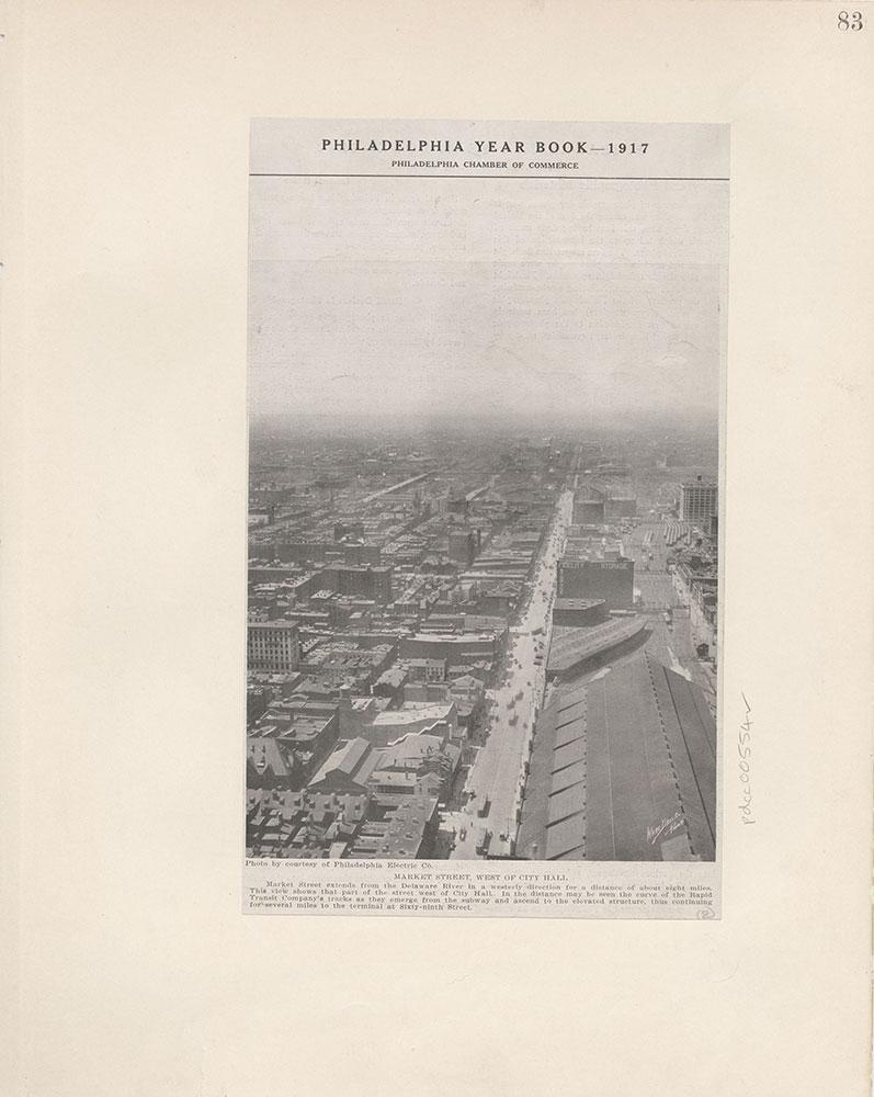 Castner Scrapbook v.6, Market Street, page 83