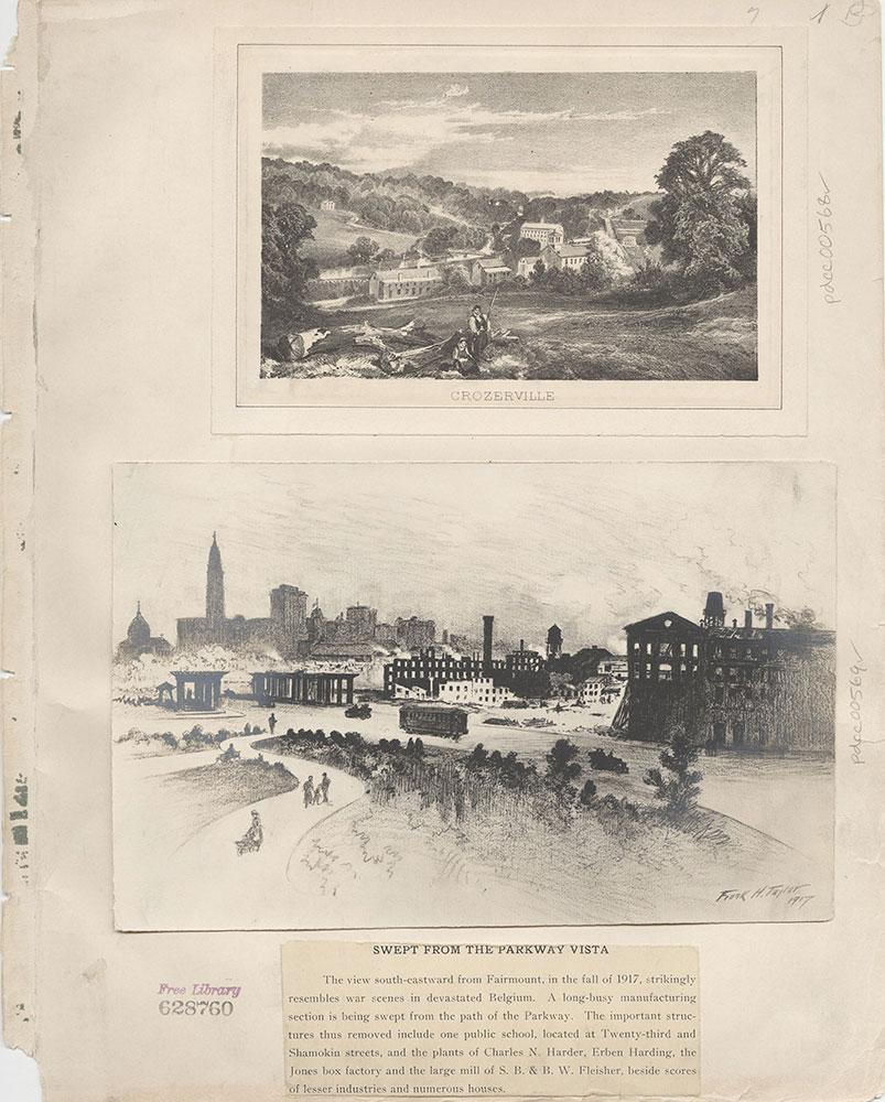 Castner Scrapbook v.7, Walks, Views, Maps, page 1B