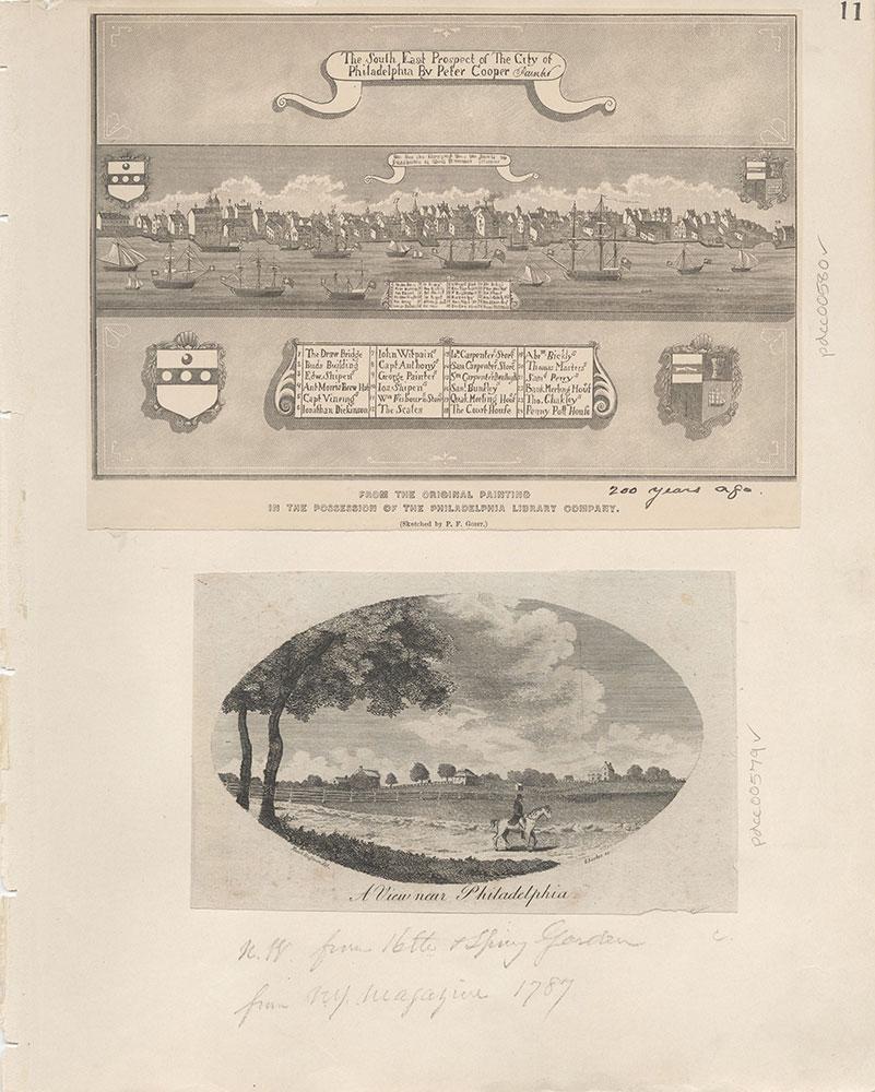 Castner Scrapbook v.7, Walks, Views, Maps, page 11