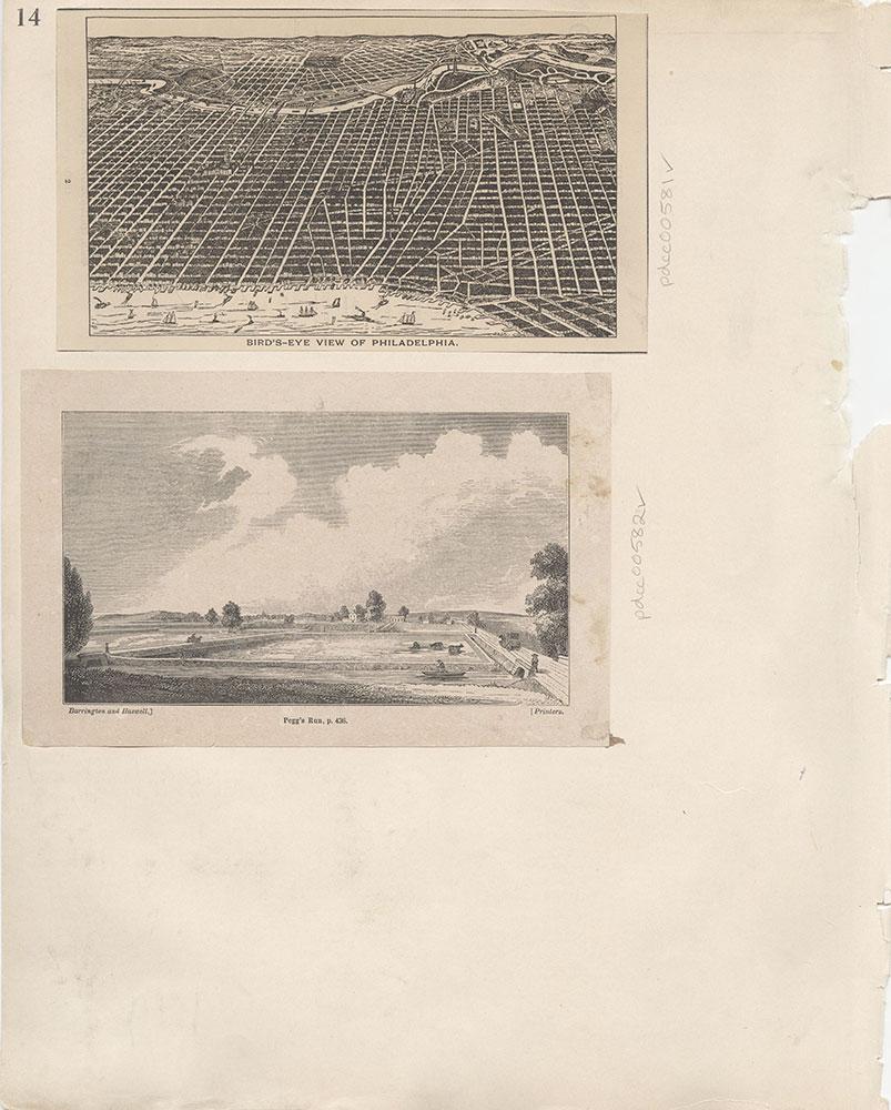 Castner Scrapbook v.7, Walks, Views, Maps, page 14