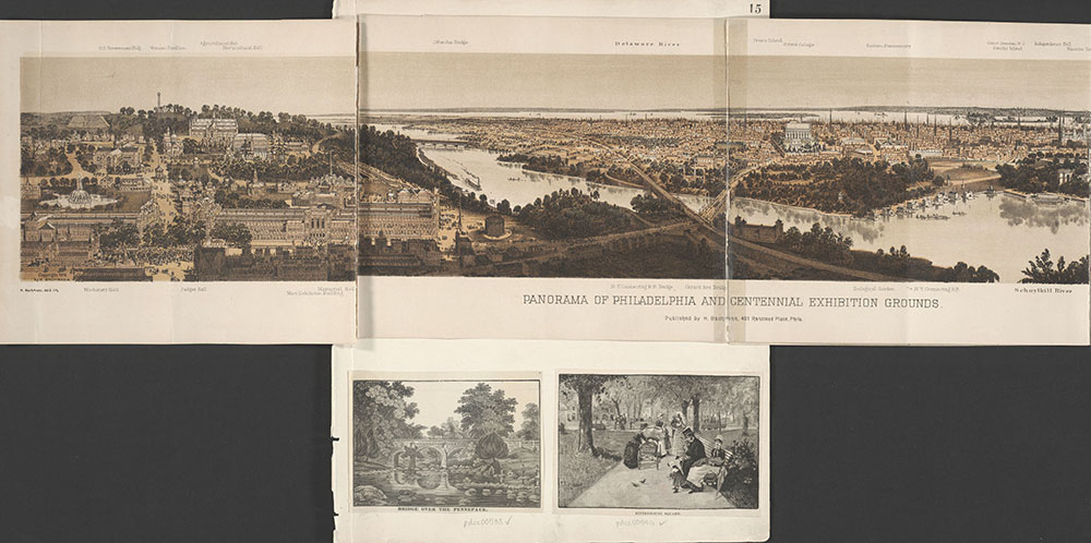Castner Scrapbook v.7, Walks, Views, Maps, page 15