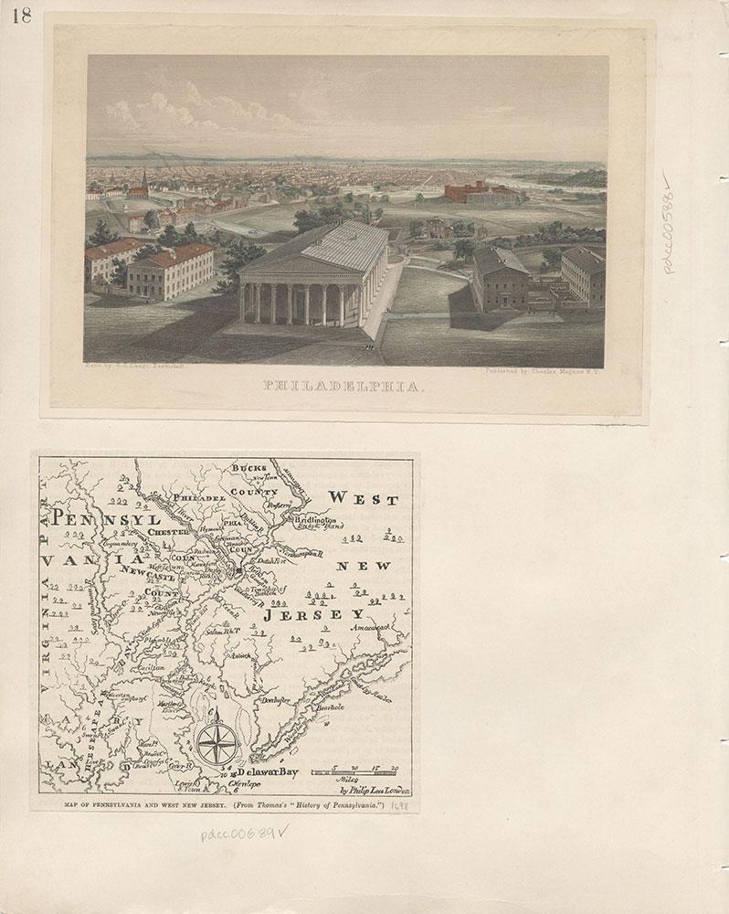 Castner Scrapbook v.7, Walks, Views, Maps, page 18