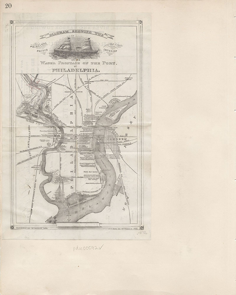 Castner Scrapbook v.7, Walks, Views, Maps, page 20