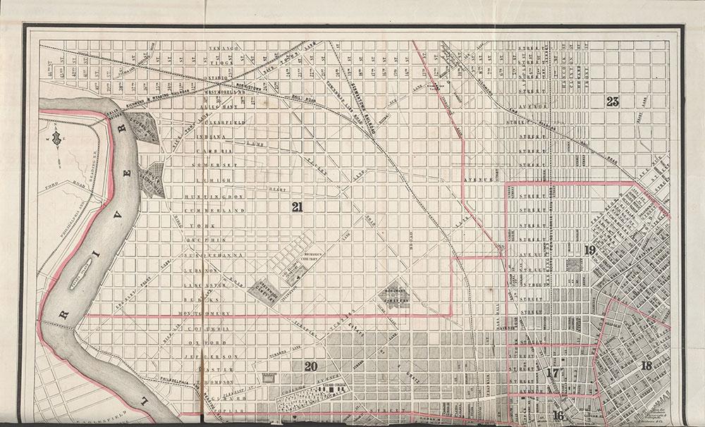 Castner Scrapbook v.7, Walks, Views, Maps, page 25